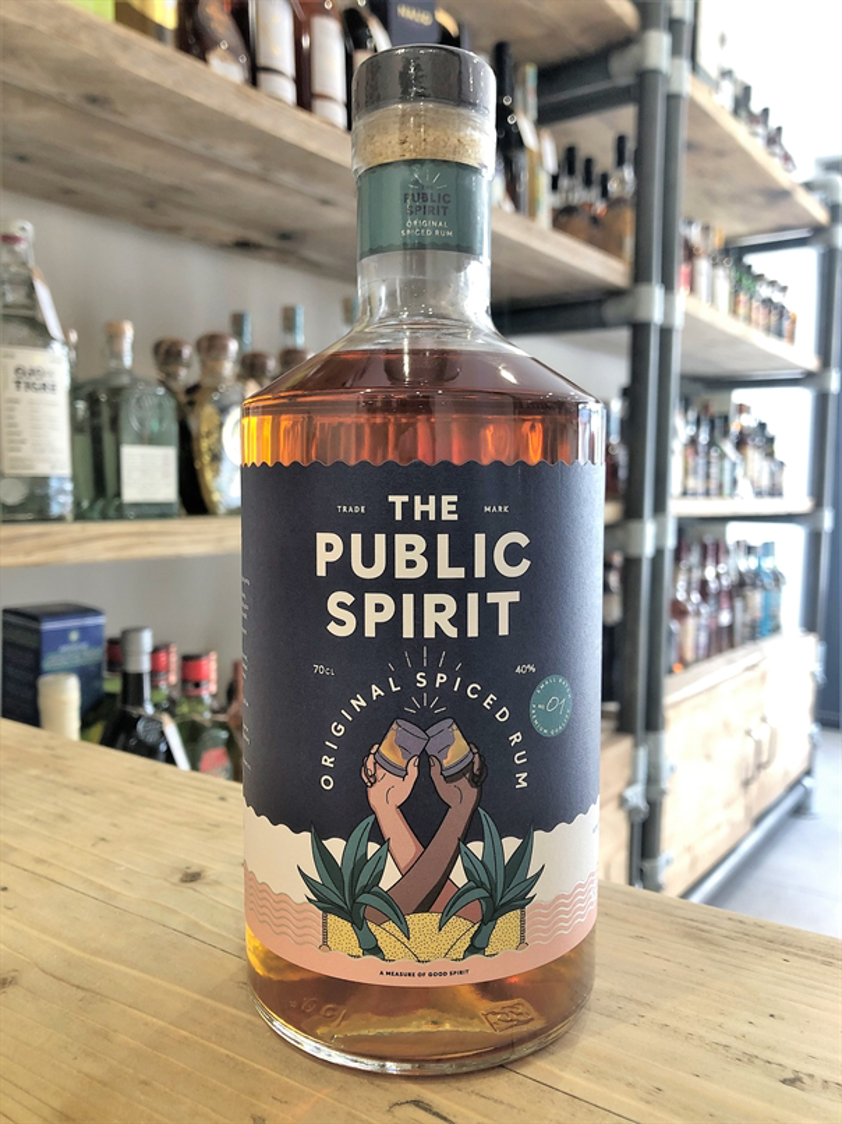 The Public Spirit Spiced Rum 40% 70cl