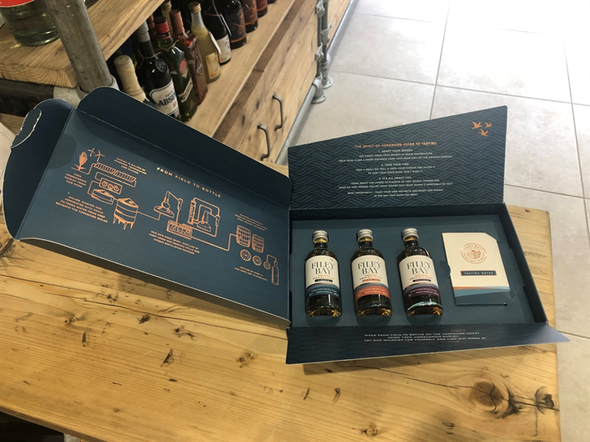 Filey Bay Experience Tasting Pack 3 x 5cl