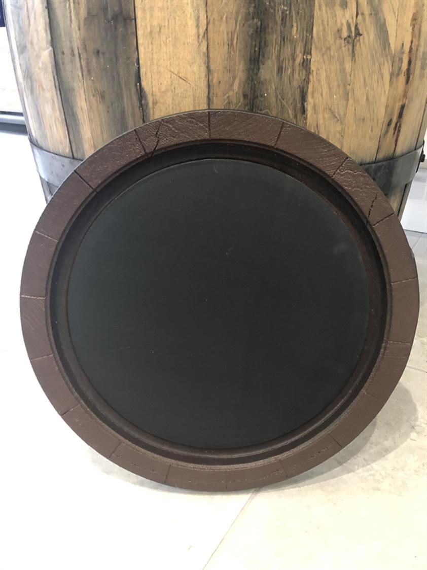 Whisky Barrel Chalkboard