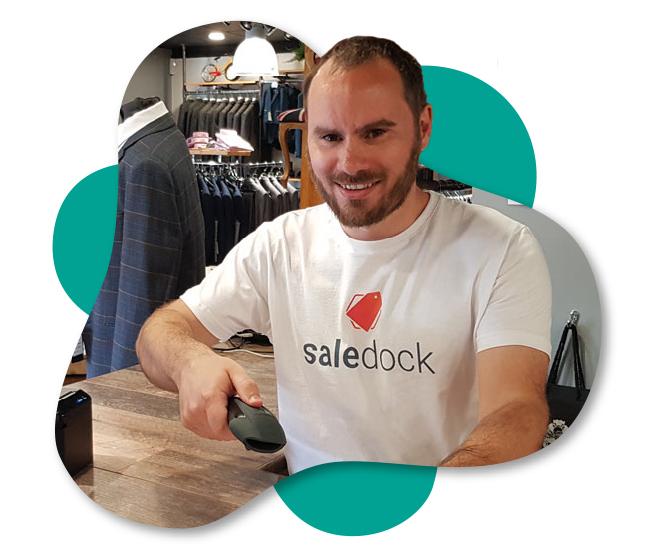 Saledock co-founder Lee Gladwin