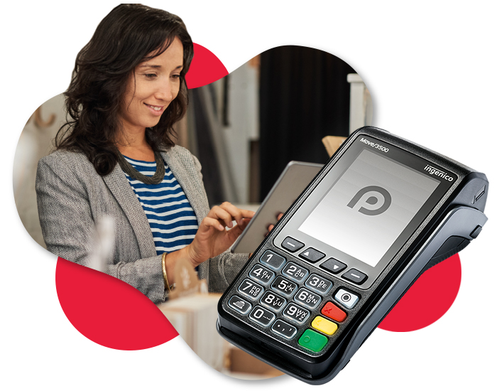 Paymentsense integrated payments - Ingenico Move 3500 card reader with Saledock point of sale