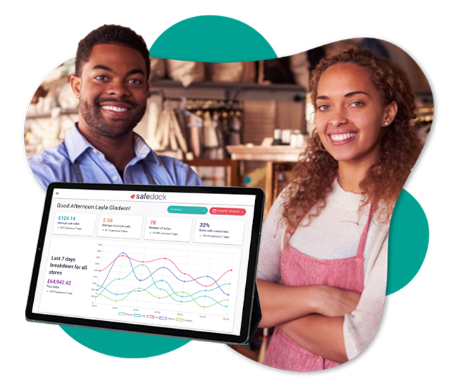 Analyse staff, product and store performance with Saledock