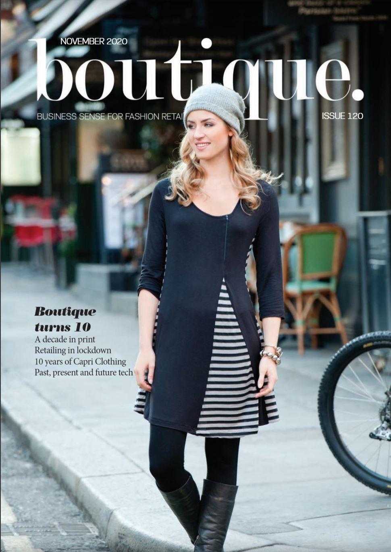 Saledock features in Boutique Magazine Nov 2020
